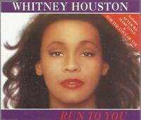 Whitney Houston - Run To You 1992 Arista CD single