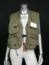 MASTER SPORTSMAN NWT Army Green Sleeveless Fishing/Rugged Outdoor Vest sz XL