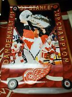 Vintage lot (6)Detroit Red Wings 1997 STANLEY CUP CHAMPIONS VERNON MURPHY + VGC