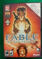 🟢 Fable: The Lost Chapters (PC, 2005) Complete with Manual.