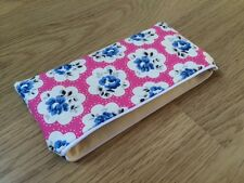 Fabric Pencil / Make Up / Glasses Case Cath Kidston Electric Pink Provence Rose