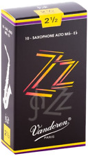 Vandoren SR4125 Zz Alto Sax Reed #2 1/2
