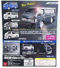 Miniatures Hiace Super GL New Debut  4pcs - Beam Gashapon   , hok