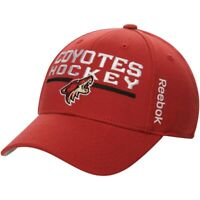 NHL Arizona Coyotes Structured Adjustable Cap Snapback Hat New with Stain