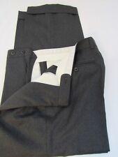 Zanella Silver Band Gray Wool Italian Pant Size 32x27