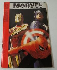 Marvel Encyclopedia 2004 Marvel Age Spider Man Iron Man Wolverine Hulk X Men 1st