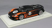 Spark Porsche 918 Spyder Weissach Package in Black & Orange 2013 S4199 1/43 NEW