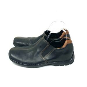Cole Haan Black Leather Zeno Loafers Men's Size 9