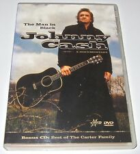 Johnny Cash - The Man In Black - A Documentary (DVD + CD, 2005)