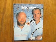 June 23, 1985 Detroit News Television Magazine  (BUD  COLLINS/DICK  ENBERG)