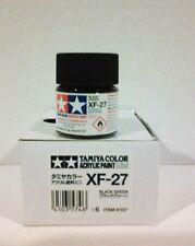 Tamiya acrylic paint XF-27 Black green 10ml Mini.