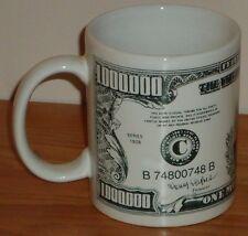 $1,000,000 Dollar Bill ceramic coffee Mug President Roosevelt