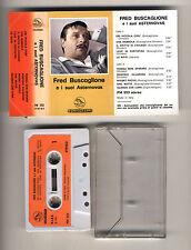 Mc FRED BUSCAGLIONE E I SUOI ASTERNOVAS Fonit Cetra 1980 Musicassetta