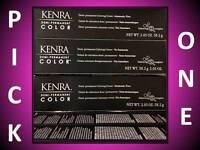 KENRA DEMI-PERMANENT COLORING CREME HAIR COLOR AMMONIA FREE 2.05 OZ / LEVEL 6-7