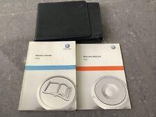Volkswagen Caddy Owners Handbook Manual and Wallet