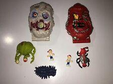 Mighty Max Horror Heads Lava Beast AND ZOMBOID LOOK