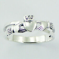 USA Seller Claddagh Ring Sterling Silver 925 Best Deal Plain Jewelry Gift Size 6