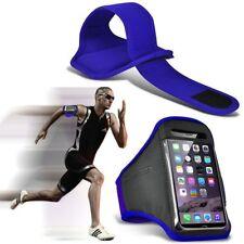 Custodia FASCIA DA BRACCIO TELEFONO di qualità ✔ Esercizio Sport Palestra Corsa Allenamento Fitness ✔ Blu