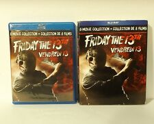 Friday the 13th: The Ultimate Collection (DVD, 2017, 8-Movie Set, Canadian) SLIP