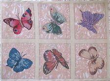 Teppich, Matte, Läufer Schmetterlingsmotive 50 x 70 cm robust,rutschsicher
