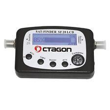 Octagon Satfinder SF 28 LCD Display mit Ton Sat Finder Kompass NEU