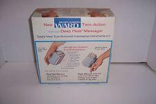 Vintage Montgomery Ward Twin-Action Deep Heat Massager Heavy Duty