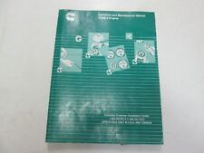 2002 Cummins Qsb5.9 Engine Operation & Maintenance Manual Worn Fading Factory 02
