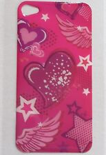 LOVE HEARTS and Stars Design BACK STICKER for Apple iPhone 4/4G/4S Phone Decal