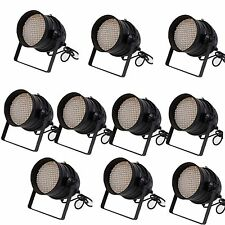 10X LOT DJ 177 LED LIGHTS RGB PAR 64 DMX STAGE PARTY SHOW DJ LIGHT LIGHTING WASH