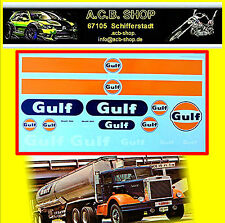 Gulf Tank Truck Or Trailer 1:24 Decal