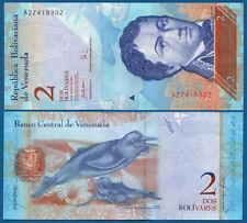 VENEZUELA  2 Bolivares 2007 UNC  P.  88