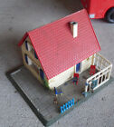 Vintage 1960s Hoffman HO Scale Small Cottage Building on Base #2
