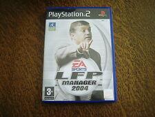 jeu playstation 2 LFP manager 2004