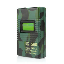 50-2400MHz RK560 Frequency Counter CTCSS/DCS Decoder for Walkie Talkie Radio