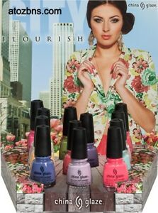 China Glaze CITY FLOURISH Collection 12 Colors Nail Polish 1290-1301 FLL SIZE