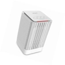 Ventilador Calefactor personal, douhe 2 en 1 950W/450W PTC Calentador de espacio, Mesa Eléctrico Hea