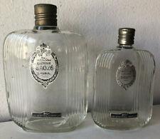 Due vecchie bottiglie di profumo - eau de cologne chypre Sauze Paris
