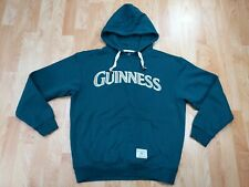 Guinness Adult Medium Green Long Sleeve Hoodie Sweatshirt Ireland
