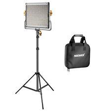 Neewer Kit Pannello Luce 480 LED Bicolore 3200-5600K CRI 96+ & 190cm Cavalletto
