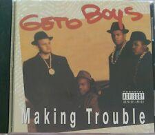 Making Trouble by Geto Boys CD-1988 rare OG Press-Rap-A-Lot Records-Original Rec