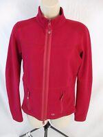 Pearl Izumi Cycling Zip Dark Pink Reversible Jacket Fits Like Womens Small CB51A