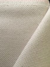 Natural cream 13 count Monks Cloth Zweigart fabric 50x70cm stitch/ punch needle