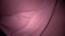 tissu pull acrylique tubulaire a cotes vieux rose  100x150cm