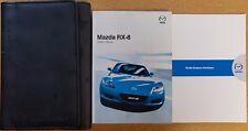 MAZDA RX-8 HANDBOOK OWNERS MANUAL WALLET 2003 -2009 PACK 16932