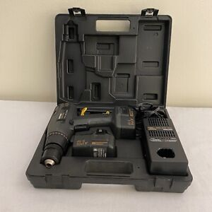 """Vtg Excellent Craftsman 13.2v Cordless 3/8"""" Drill / Driver & 2 Batteries"""