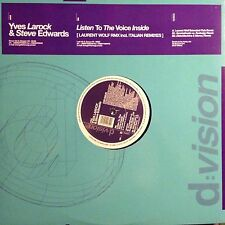 YVES LAROCK & STEVE EDWARDS • Listen To The Voice Inside • Vinile 12 Mix • 2009