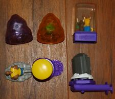 1996 Taco Bell Kids meal Toys complete set4 KAZAAM games/toys + Nacho & Dog game
