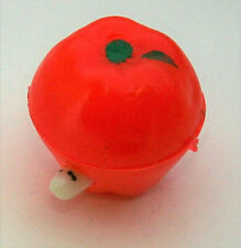 Mini Worm in Apple Plastic Hong Kong 1960s NOS New Vending Machine Prize