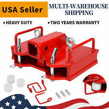 2 Forklift Trailer Hitch Receiver Ball Hitch Attachments For Dual Pallet Fork