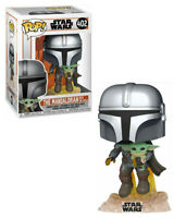 Pop! Star Wars: The Mandalorian - Mando Flying with Child #402